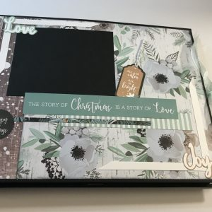Mint Wishes Folio Album