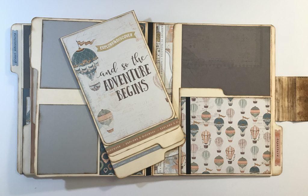 Travelers File Folder Album