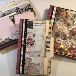 Treasured Memories File Folder Album Tutorial