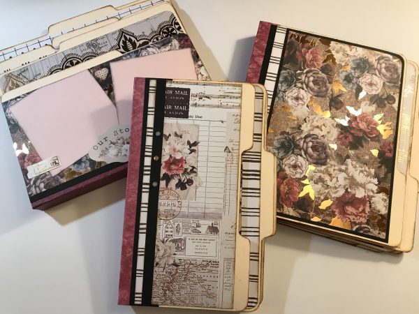 Treasured Memories File Folder Album Tutorial