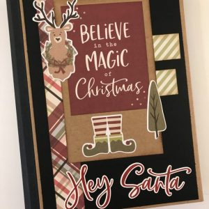Believe in the magic of Christmas folio album