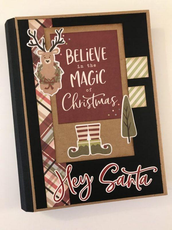Believe in the magic of Christmas folio album