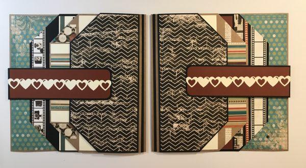12 x 12 Interactive Scrapbook Pages