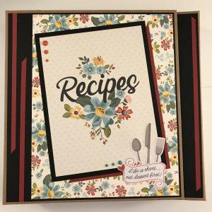 Recipe Mini Album