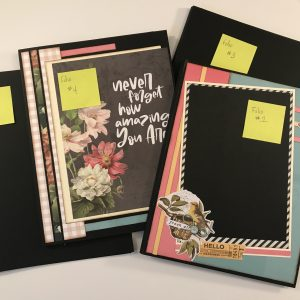 A Year In Review Folios