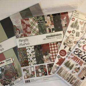 Vintage Rustic Christmas Collection Kit